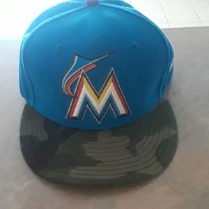 Miami Marlins fitted cap